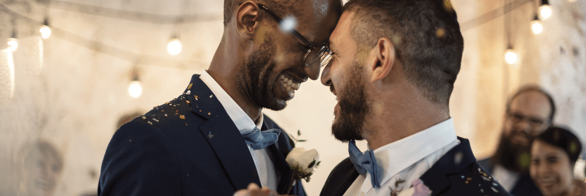 Two males Civil partnership Ceremony