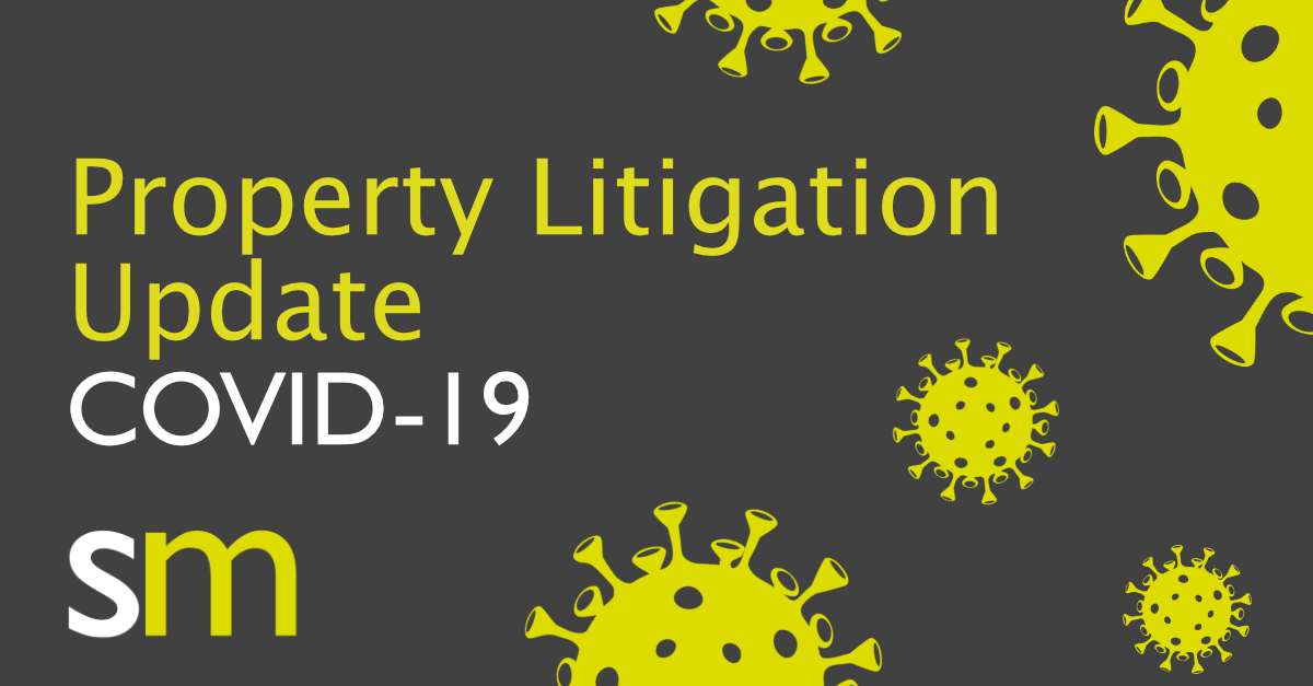 Covid 19 Property Litigation Update