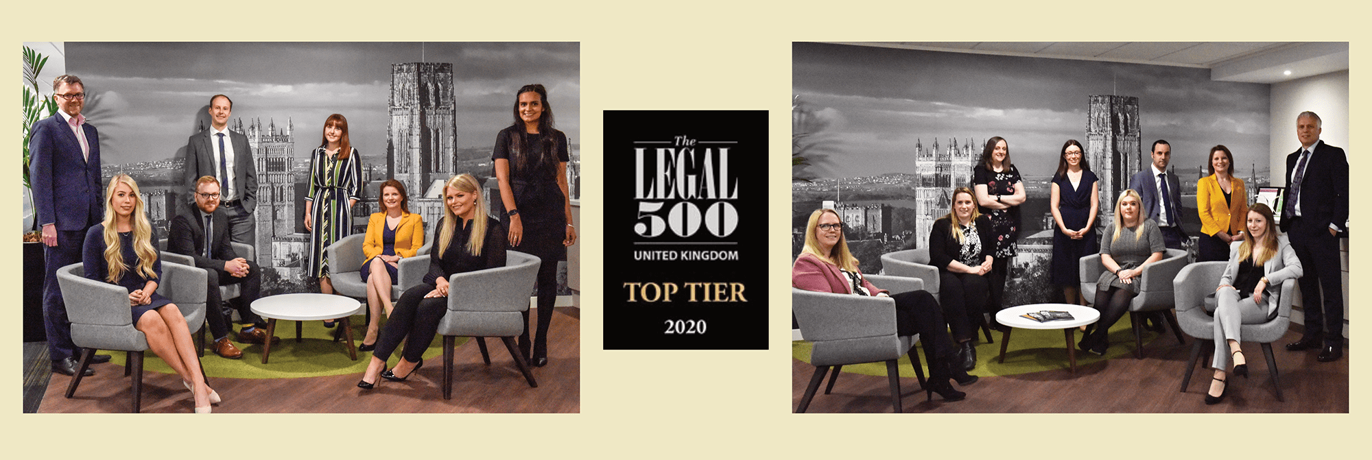 Legal 500 Award Team Photo