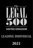 The Legal 500 2021, Leading Individual